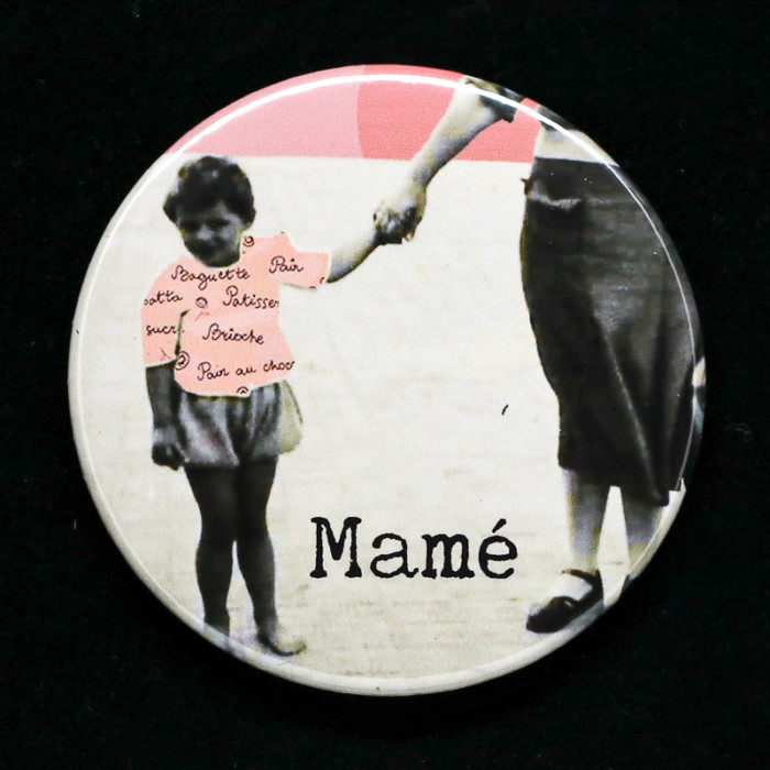 Badge mamé Red Orb Creations