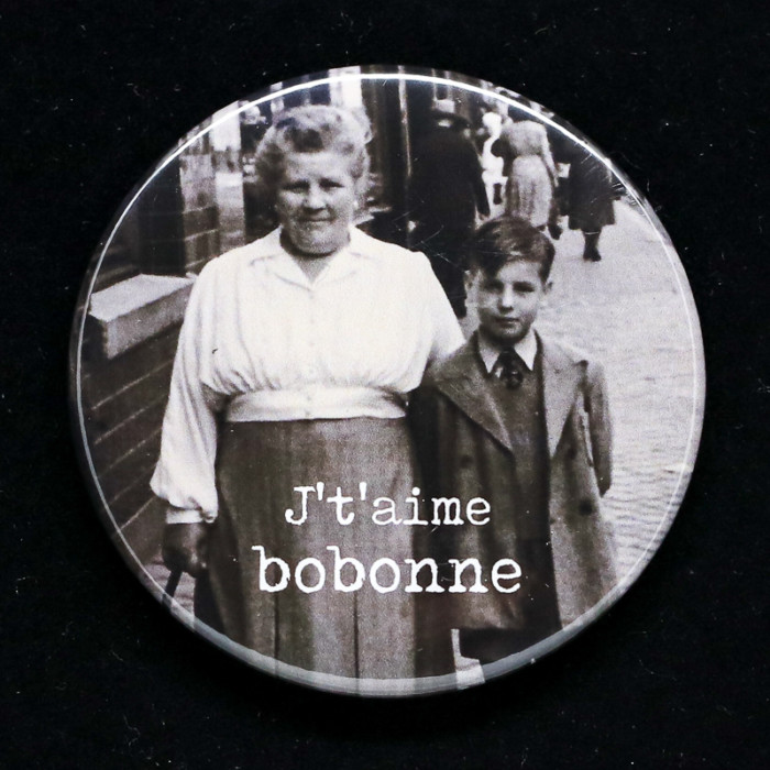 Badge bobonne Red Orb Creations