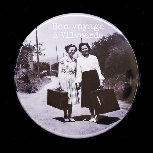 Badge bon voyage 2 Red Orb Créations