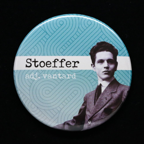 Badge Stoeffer Red Orb Creations