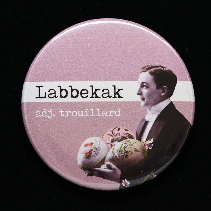 Badge Labbekak Red Orb Creations