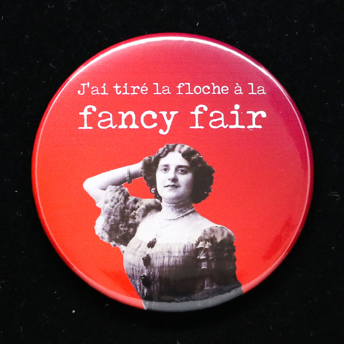 badge Fancy fair Red orb Creations