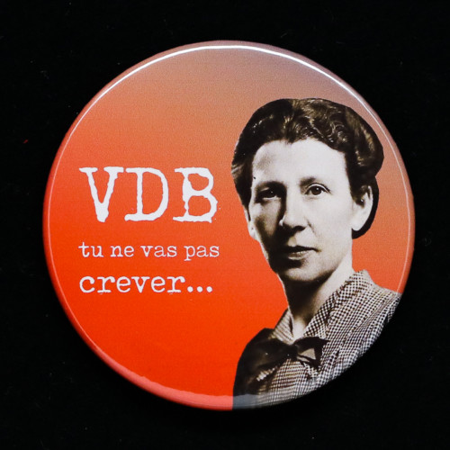 Badge VDB Red Orb Créations