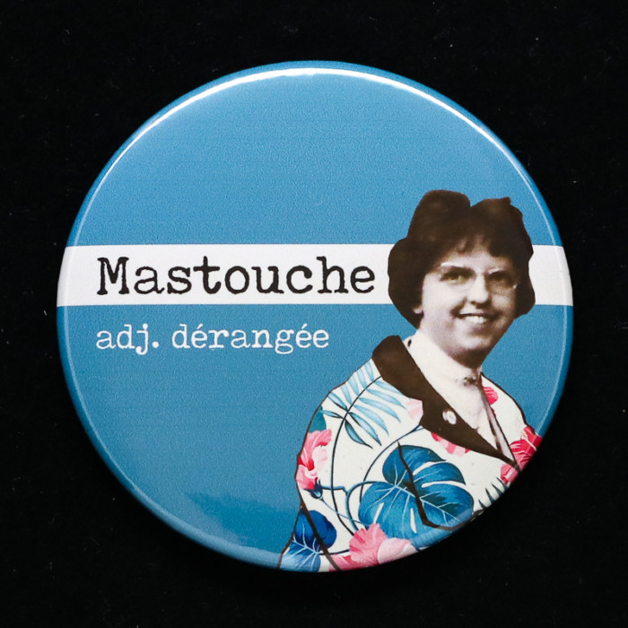 Badge Mastouche Red Orb Créations