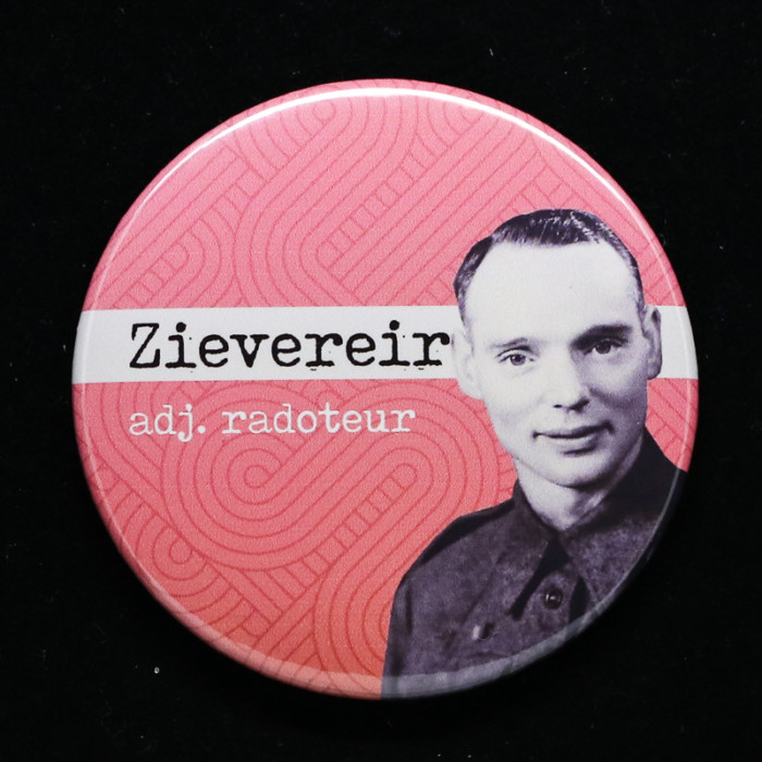 badge Zievereir Red Orb Créations