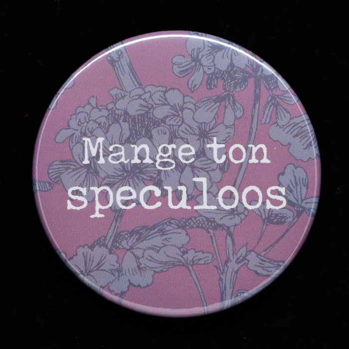 Badge Speculoos Red Orb Creations