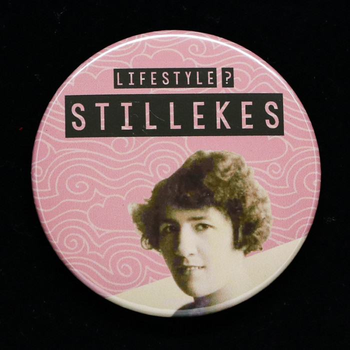 Badge stillekes Red Orb Créations
