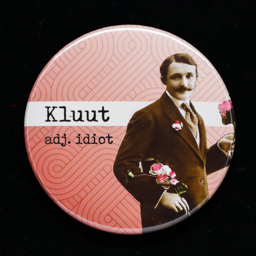 badge Kluut Red Orb Creations