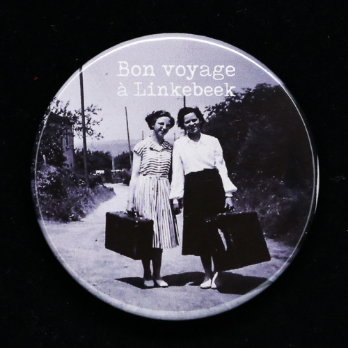 Badge bon voyage 1 Red Orb Créations