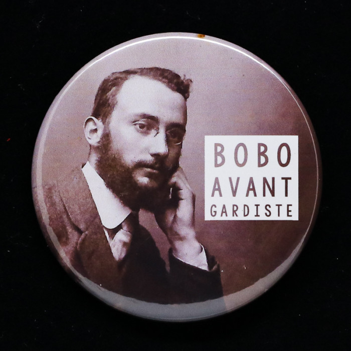 badge bobo Red Orb Créations