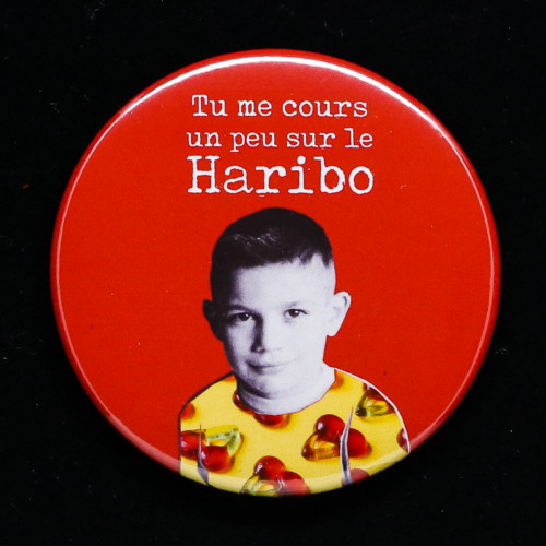 badge Haribo Red orb Creations