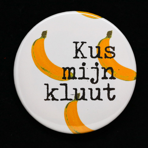 badge Kus mijn kluut Red orb Créations