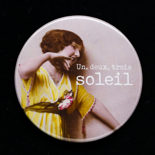 badge soleil Red Orb Créations