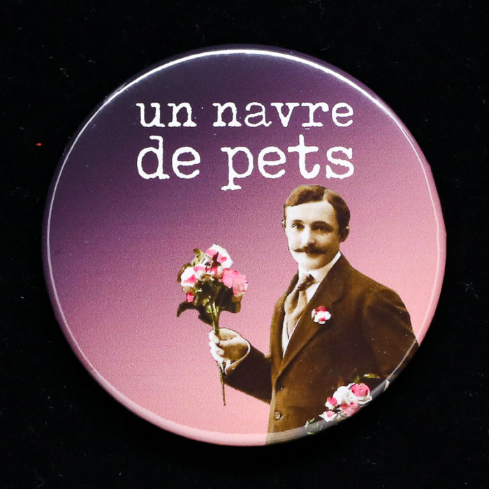 badge navre Red Orb Créations