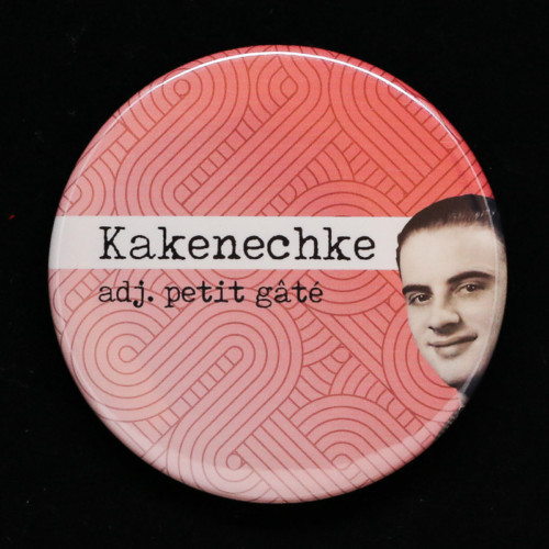badge Kakenechke Red Orb Creations