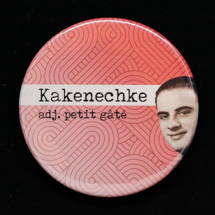badge Kakenechke Red Orb Creations