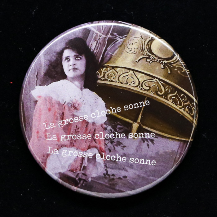 badge cochonne Red Orb Créations