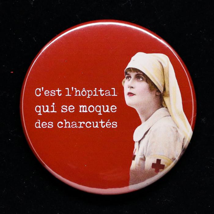 badge hopital Red Orb Creations