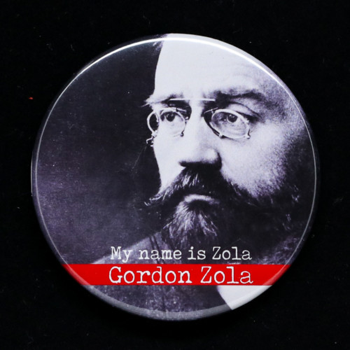 Badge Gordon Zola Red Orb Créations