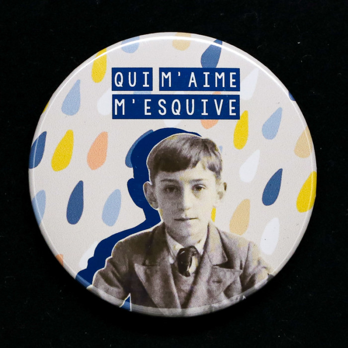 Badge ou magnet Esquive carte Red Orb Créations