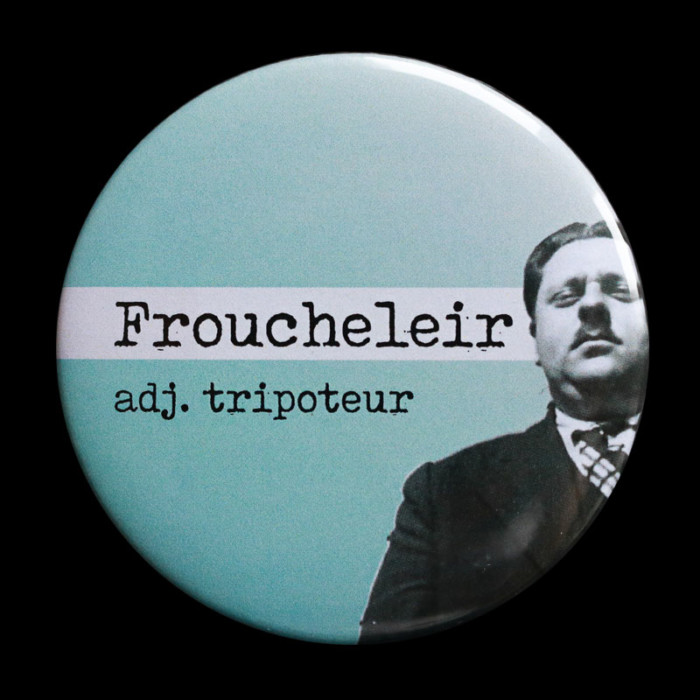 Badge Froucheleir Red Orb Creations