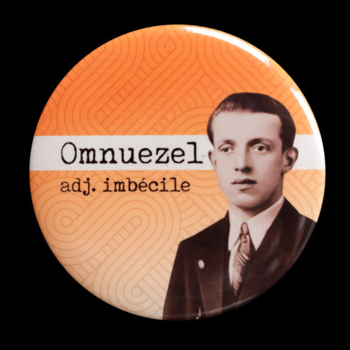 Badge Omnuezel Red Orb Creations